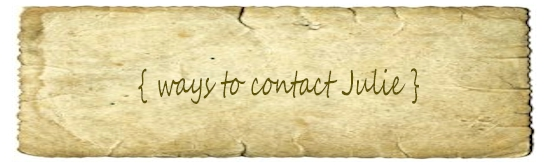 Contact Julie Ryals